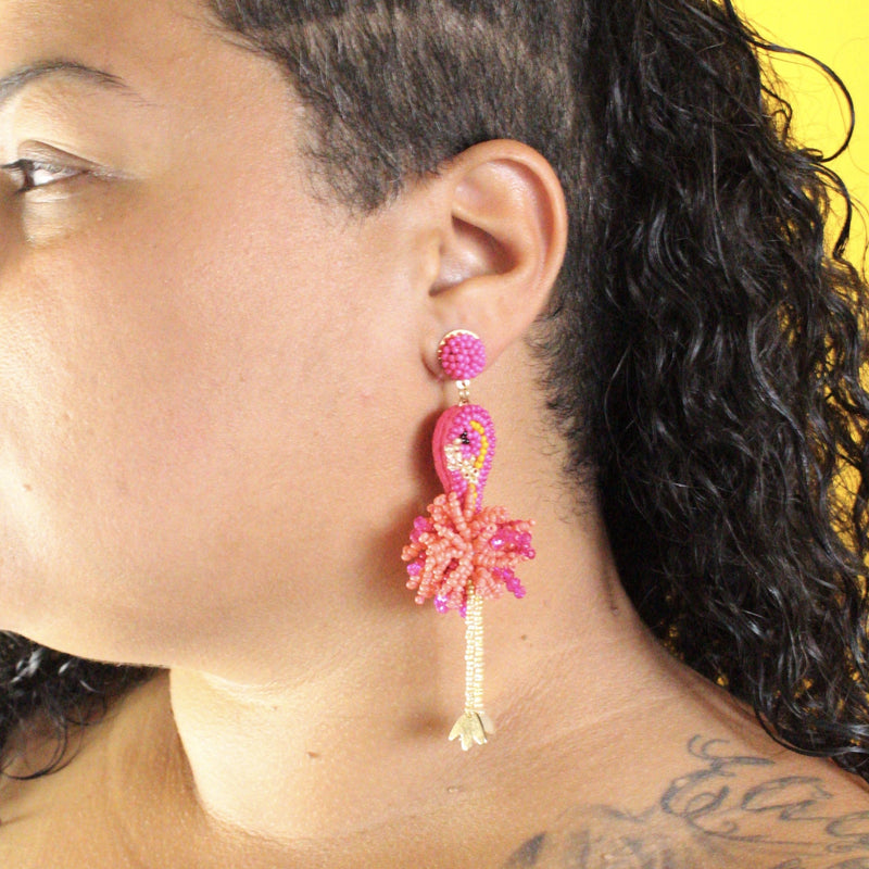 The Flamingle Earrings