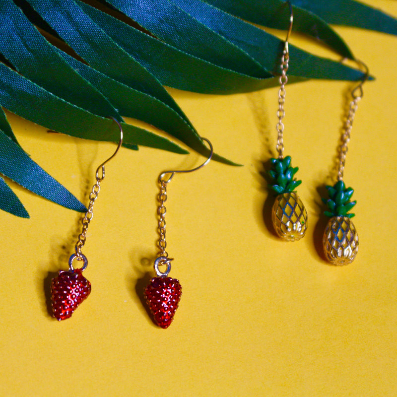 Fruit Galore Earrings - shopdraped