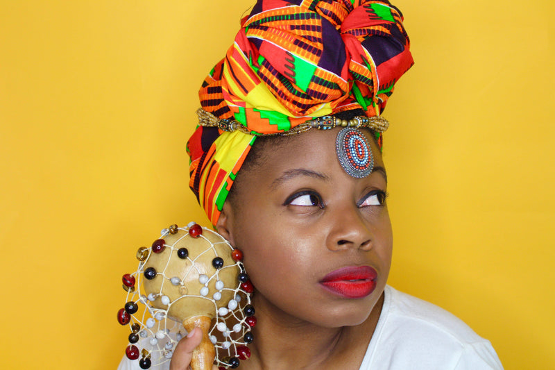 RBG Kente Headwrap - shopdraped