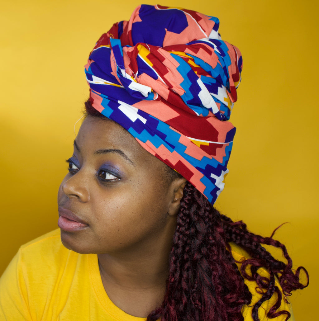Amoura Kente Headwrap