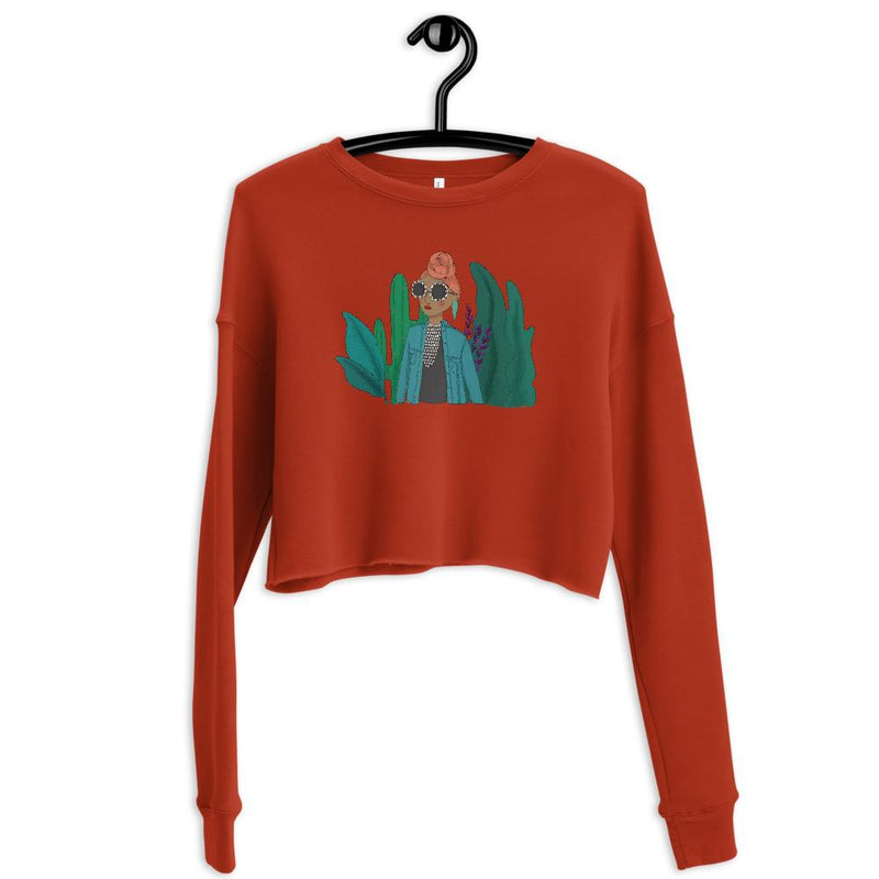 Andrea's Way Crop Sweatshirt