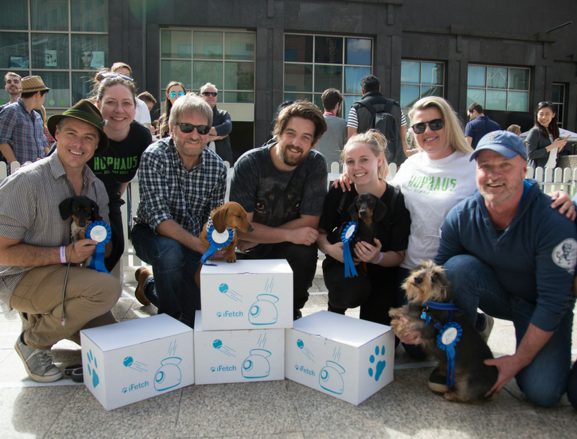 iFetch Supports Dachshund Rescue Australia