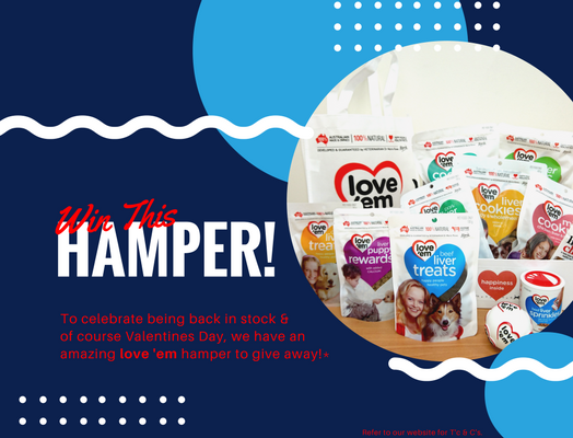 WIN a love 'em hamper this February!