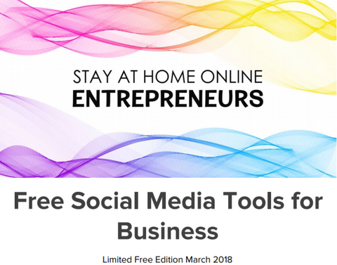 Free Social Media Tools for Business ebook - Stay at Home Mum.com.au