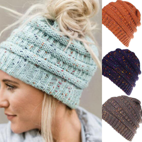 Women's Ponytail Friendly Beanie - Stay at Home Mum.com.au
