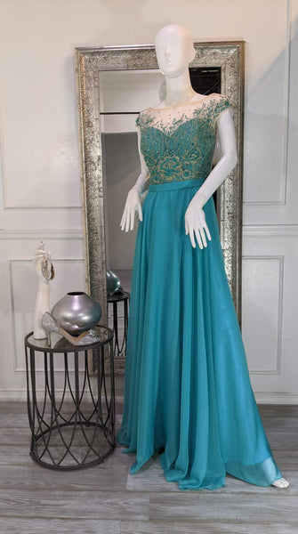 Runway Glow Dress Evening Gown Cocktail Prom Homecoming