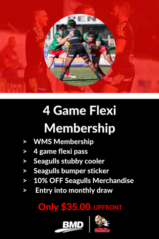 4 Game Flexi Membership