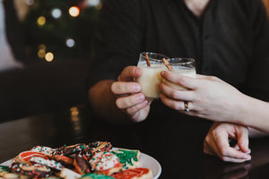Cheers! A Sparkling Cider Cocktail for the Holiday Season