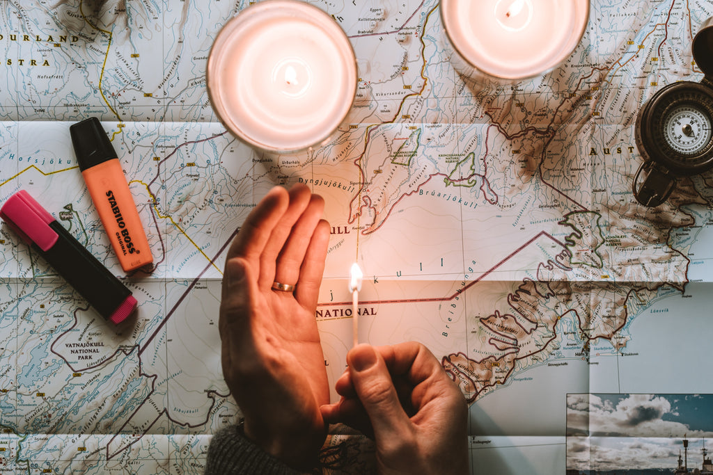 map our your route ahead of time
