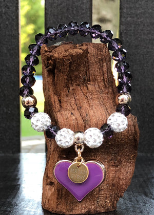 Love Me Tender Crystal Collection - Purple - Madam Gypsy