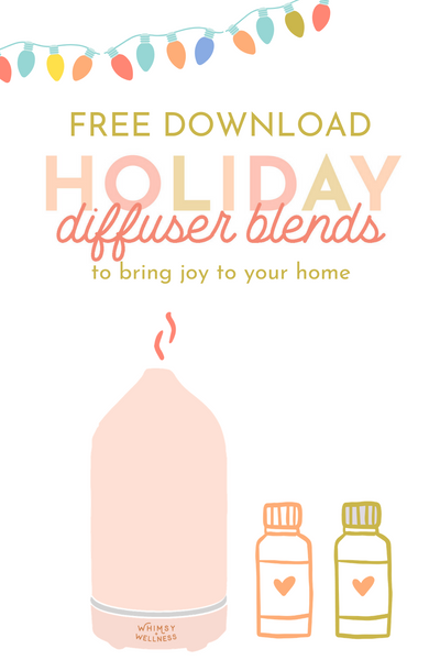 Free Holiday Diffuser Blend Printable Recipe Card