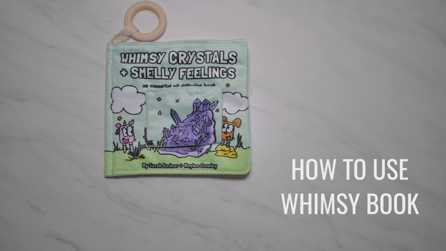 Whimsy Crystals + Smelly Feelings | a diffusing book