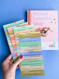 Beyond Lavender Bundle | Hardcover Book + Recipe Labels