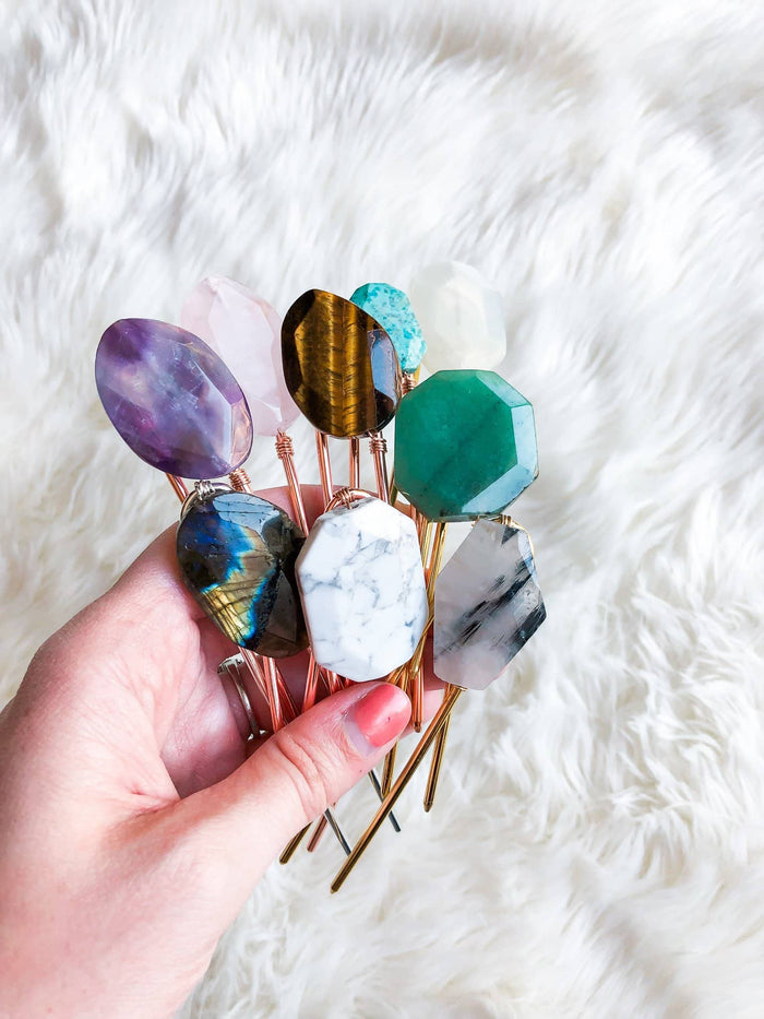 Gem Hair Pins: Limited Edition Spring/Summer