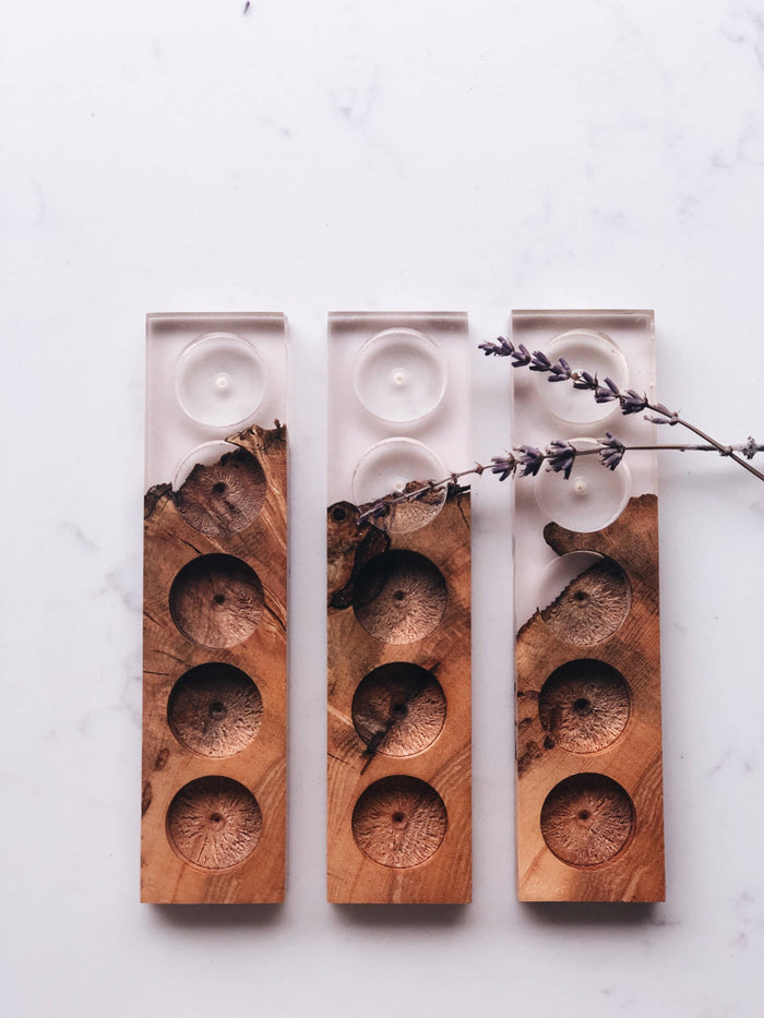 Rose + Wood Oil Holder: Limited Edition Fall/Winter
