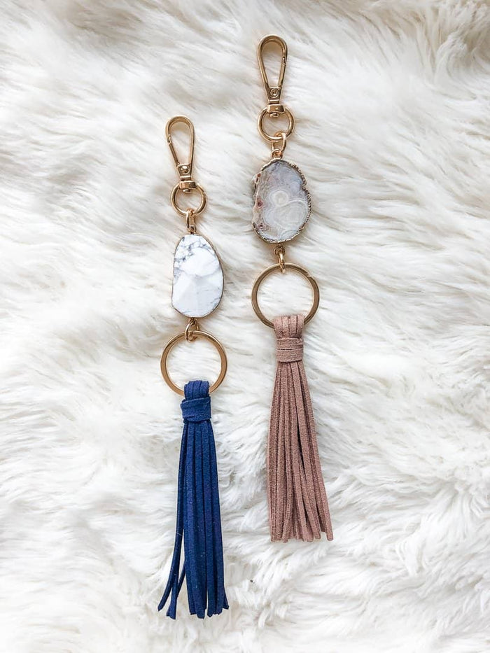 Gemstone Keychain Diffuser: Holiday