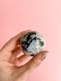 Moonstone Crystal Sphere // Bring Change + Insight