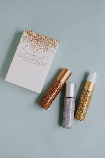 Modern Metallics Twinkle Trio: holiday