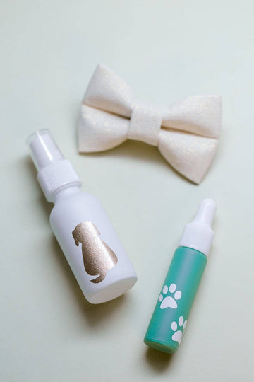 Happy Tails | Essential Oil Spray and Dropper Set For Pets