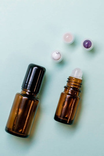 Gemstone Roller Top- Fits 5/15ml Essential Oil Bottle
