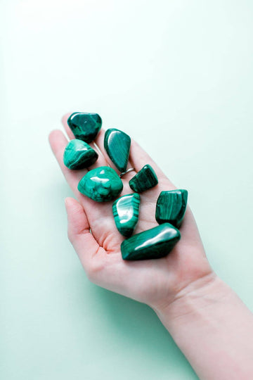 Malachite Tumble Duo