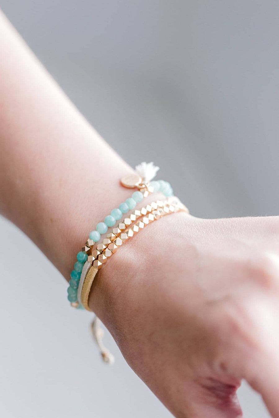 Ocean Set Of 3 Diffuser Bracelets | Put On Love Designs