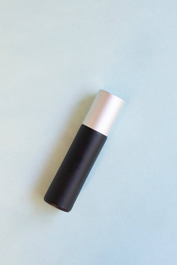 Black Glass Roller Bottle | 10 ml