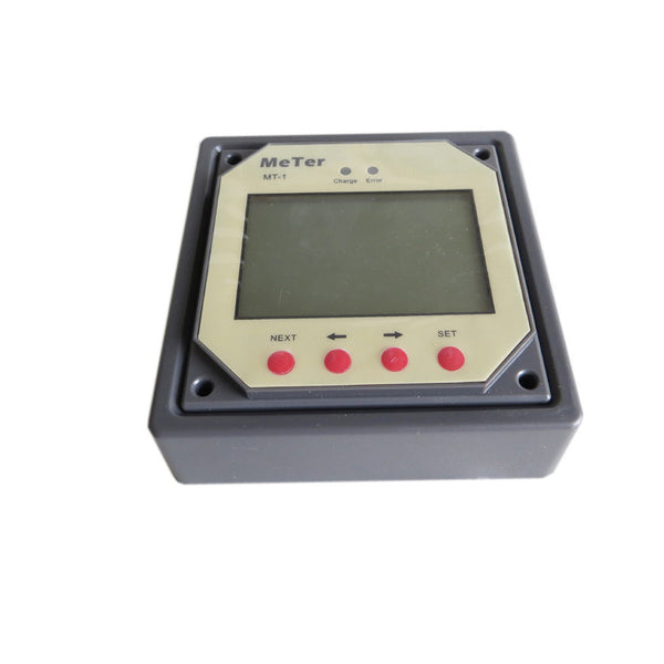Solar Battery Meter : Epsolar mt solar charge controller lcd remote meter for