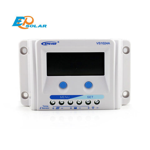 EPSOLAR VS1024A 10A 12V 24V EP EPEVER New Viewstar Solar Charge controller LCD display - Ncharger,LINKSOLAR