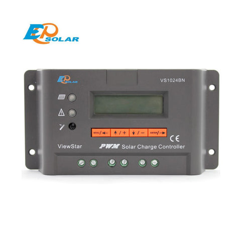 EPSOLA 12V 24V PWM Solar Charge Controller LCD Display - Ncharger,LINKSOLAR