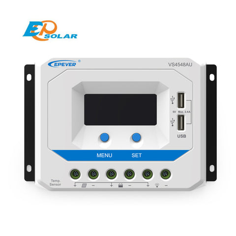 EPSOLAR VS4548AU 45A 12V 24V 36V 48V EP EPEVER New Viewstar Solar Charge controller LCD display - Ncharger,LINKSOLAR