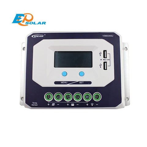 EPSOLAR VS6024AU 60A 12V 24V EP EPEVER New Viewstar Solar Charge controller LCD display - Ncharger,LINKSOLAR