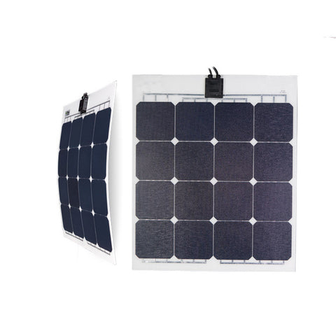 1 pcs 50W ETFE Marine Flexible Solar panel GFL-50S (5pcs/pack) - Ncharger,LINKSOLAR