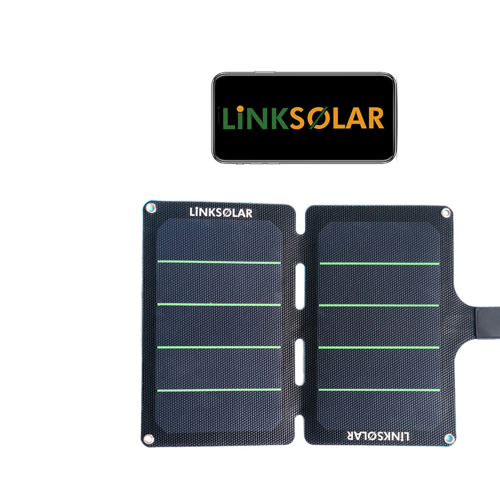 11W 20W 60W 5V Mobile Solar Charger for outdoor biking hiking - Ncharger,LINKSOLAR
