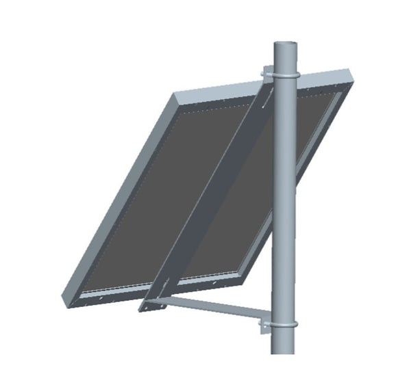 Universal Solar Panel Fixed Tilt Side-Of-Pole Rack Mounting Bracket Set, Solar Panels from 30W to 60W - Ncharger,LINKSOLAR