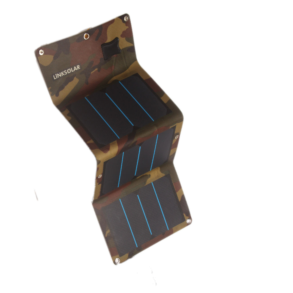 Linksolar 13w 2a Waterproof Portable Solar Charger For Any
