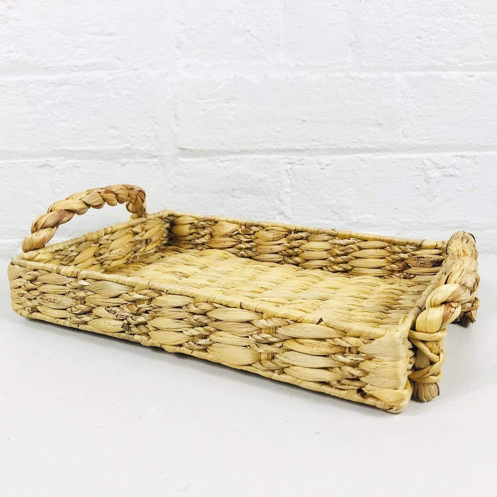 Water Hyacinth Tray Large