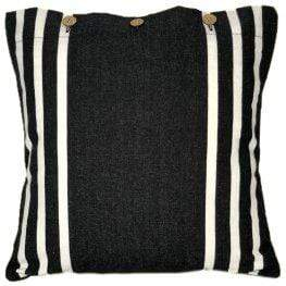 Rock Black Cushion Cover - Assorted Sizes