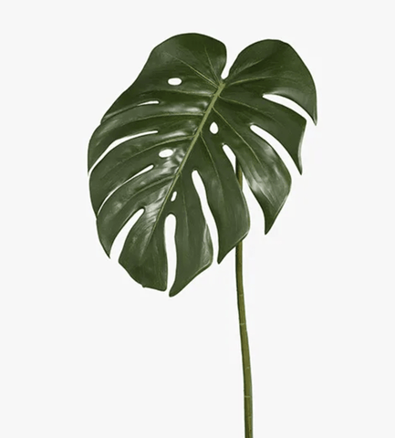 Green Monstera Leaf 80cm