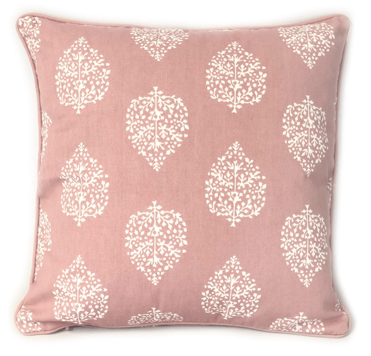 Avalon Dusty Rose Cushion Cover  60 x 60 cm