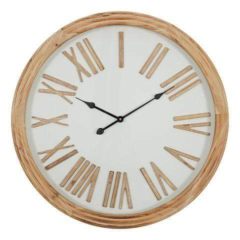 COLLINS WOOD CLOCK 78CM