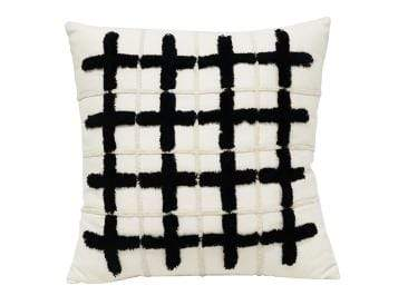 Cubed Embroided Cushion 45cm