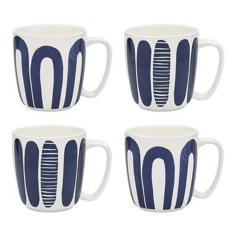 Ecology Maya Set of 4 Mugs 300ml