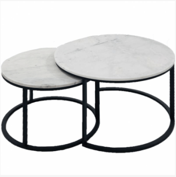 Eddie Black Marble Coffee Table