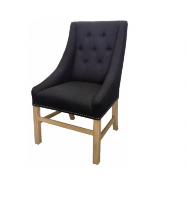 Hennessy Chair Black