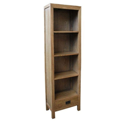 Oak 1 Drawer Bookcase