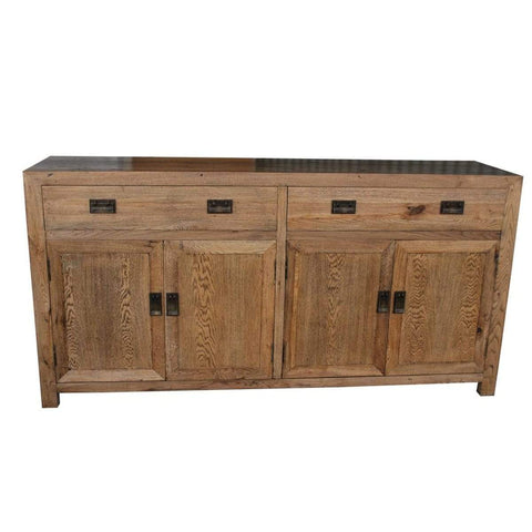 Oak 2 Drawer 4 Door Buffet