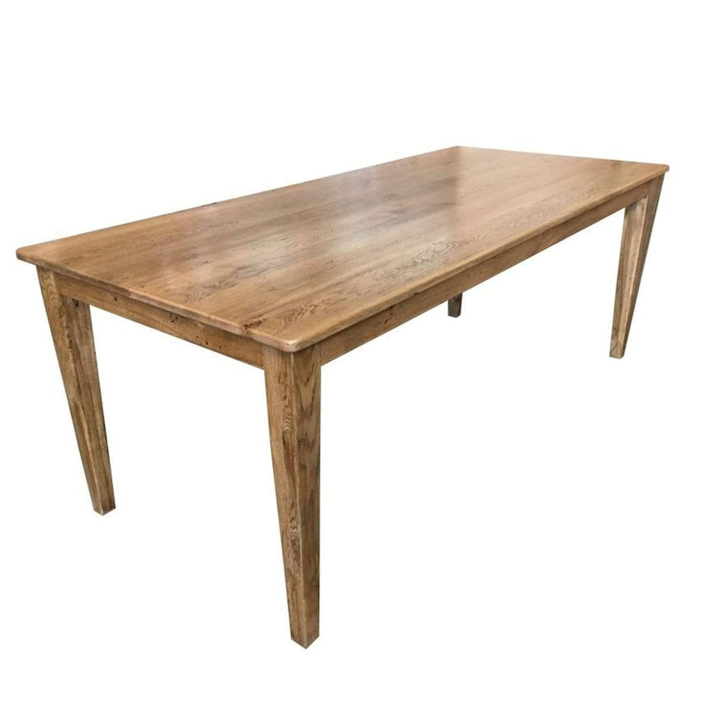 Oak Dining Table 2.4m