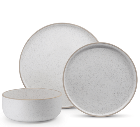 White Hana Dinner Set - 12-Piece