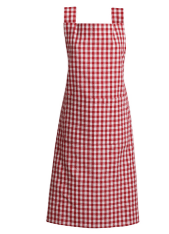 Gingham Red Checkered Apron